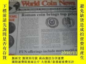 二手書博民逛書店World罕見Coin News(Vol.22,No.1)(Ja