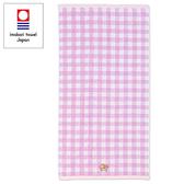 Sanrio 雙星仙子日本製今治純棉浴巾(紫格紋)★funbox★_669890