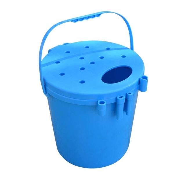 超忠多功能釣魚桶釣箱加厚可坐垂釣漁具用品魚護活魚桶釣桶釣魚桶 「店長熱推」