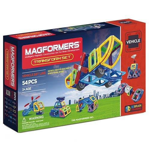 【韓國Magformers磁性建構片】變形組54pcs ACT05842