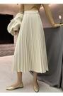 仙氣紗紗裙蕾絲金絲絨半身長裙 貝芙莉