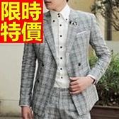 西裝外套 男西服(單外套)-明星同款紳士風隨性優質3色59t15[巴黎精品]