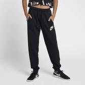 Nike AS W NSW Rally [931869-010] 女款 運動 休閒 縮口 棉質 長褲 經典 舒適 黑