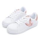 PLAYBOY 輕量經典兔兔小白鞋-白玫瑰金(Y7726)