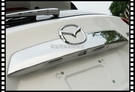 【車王汽車精品百貨】馬自達 CX5 尾標飾條 後標飾條 車標飾條 後車廂裝飾條 ABS電鍍精品