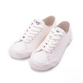 KANGOL 英式休閒帆布鞋 白 6952200200 女鞋 平底│小白鞋