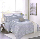 【名流寢飾家居館】雲朵多多 雙人加大鋪棉床包組兩用鋪棉被套全套