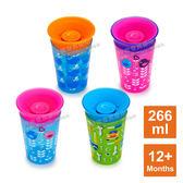 美國 munchkin 滿趣健 360度繽紛防漏杯 266ml 12個月以上適用 MNC-15862 嬰兒喝水杯 防漏杯(四色可選)