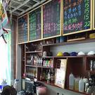 實木框磁性掛式小黑板40*60 咖啡餐廳...
