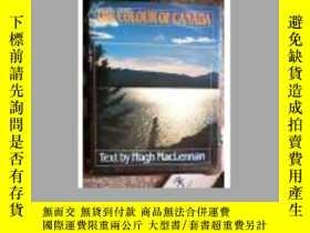 二手書博民逛書店THE罕見COLOUR OF CANADA (加拿大的顏色) 1