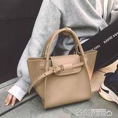 手提包 包包女新款手提包簡約時尚大容量單肩大包包手提包 名創家居館