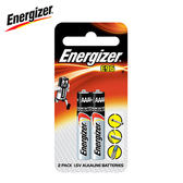 Energizer 勁量 鹼性電池6號2入