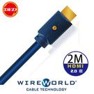 WIREWORLD SPHERE HDMI 傳輸線 2m - 全新HDMI 2.0 版
