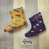 兒童雨鞋小童水鞋男女寶寶環保材質鞋子雨靴踩水套鞋 居享優品