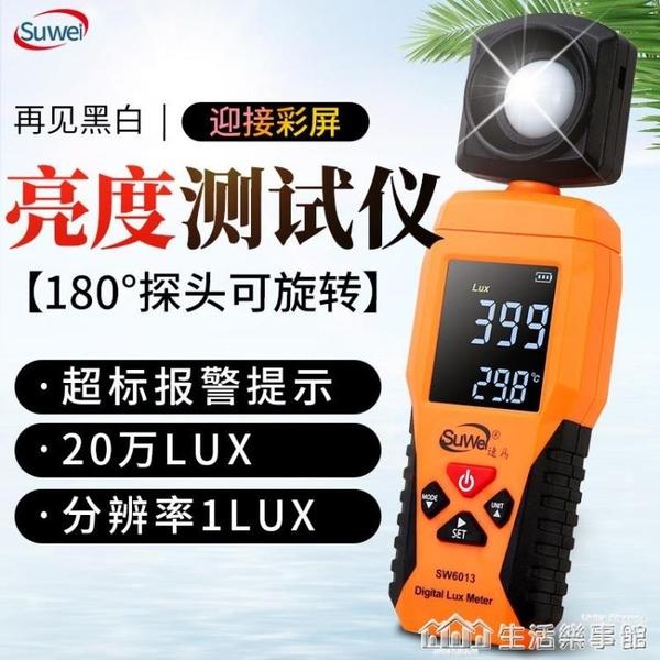 速為照度計測光儀亮度測試儀光度計表數字光照度計高精度照度儀器 NMS樂事館新品