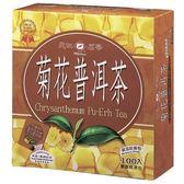 天仁袋茶防潮包-菊花普洱2g*100入【愛買】