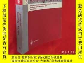 二手書博民逛書店Conceptual罕見Modeling - Er 2001: