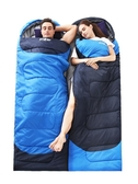 冬季睡袋成人戶外露營加厚單雙人旅行隔髒室內女保暖棉大人睡袋NMS 喵小姐