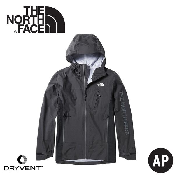 【The North Face 男 DryVent+GORE-TEX拼接防水外套《黑》】3VSN/衝鋒衣/防水外套