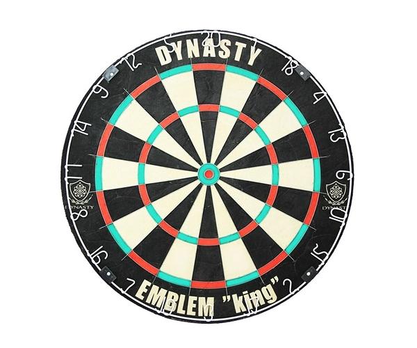 【DYNASTY】EMBLEM KING Type-N 【451】(寄送僅限台灣地區;無法超商取付) 鏢靶 DARTS BOARD