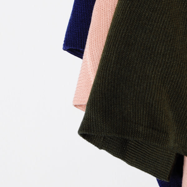 【MASTINA】飛鼠袖設計薄針織-三色 好康限時