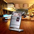 【企隆 圍欄 飯店用品】不鏽鋼書報架/H112 診所/咖啡廳/餐廳/早餐店/公共場所