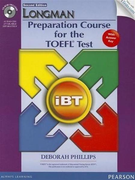 (二手書)Longman Preparation Course for the TOEFL Test: IBT Student Book ..