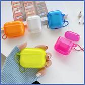 蘋果 AirPods 保護套 螢光 Apple藍牙耳機盒 保護殼