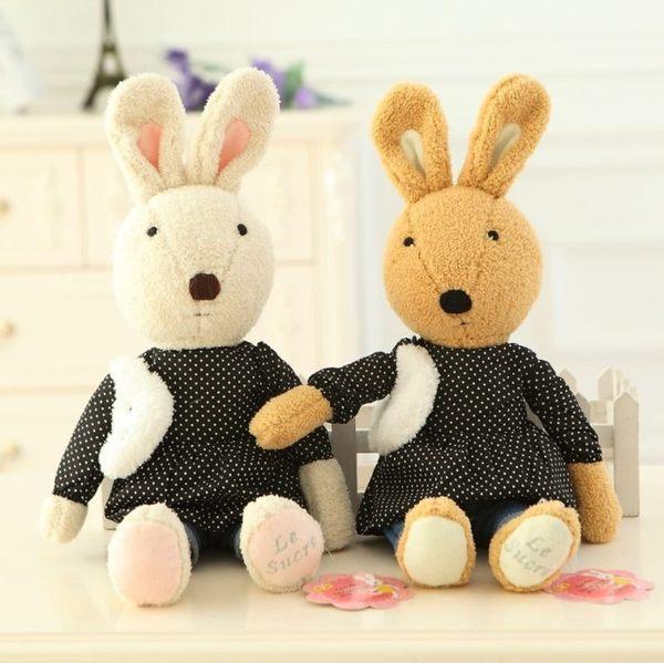 娃娃屋樂園~Le Sucre法國兔砂糖兔(雪花點點款)60cm690元另有30cm45cm90cm
