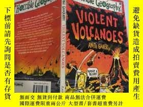 二手書博民逛書店violent罕見volcanoes 猛烈的火山Y200392