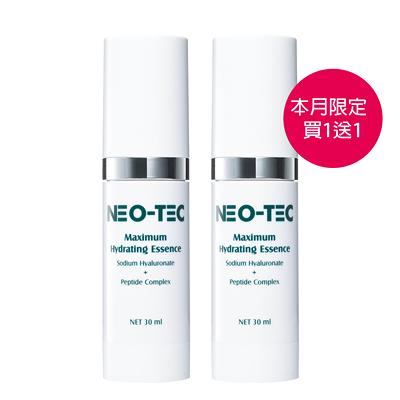 (買1送1)NEO-TEC妮傲絲翠 高效水嫩多肽精華液30ml 妮傲絲翠旗艦店