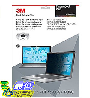 [美國直購] 3M PFCMM002 螢幕防窺片 Privacy Screen Protectors Filter for Chromebook Pixel 1/Pixel 2