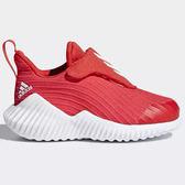 Adidas FORTARUN 童鞋 小童 慢跑 休閒 輕量 透氣 紅 【運動世界】AH2636