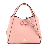 KATE SPADE Triple Compartment 三層手提斜背包(玫瑰粉)