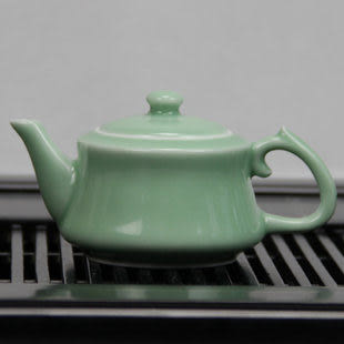 龍泉青瓷整套功夫茶具10件