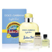 【Dolce & Gabbana】熱情仲夏 男性淡香水 125ml (夏季限量版) (搭贈同名男女小香對香)