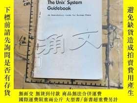 二手書博民逛書店The罕見UnixTM System Guidebook: An