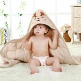 店長推薦 春秋冬嬰兒抱被加厚新生兒包被襁褓裹布春季彩棉抱毯被子寶寶包布