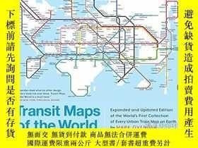 二手書博民逛書店Transit罕見Maps Of The WorldY256260 Mark Ovenden Penguin