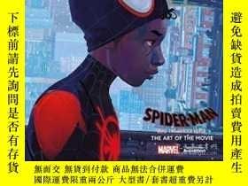 二手書博民逛書店Spider-man:罕見Into The Spider-verse -the Art Of The Movie奇