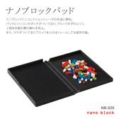 【日本 Kawada 河田】Nanoblock 迷你積木 收納盒 NB-020