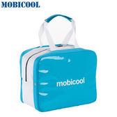 瑞典 MOBICOOL 義大利原創設計 ICECUBE M 保溫保冷輕攜袋(水藍色)