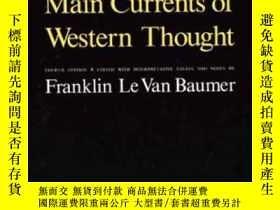 二手書博民逛書店Main罕見Currents Of Western ThoughtY362136 Franklin Le Va