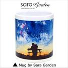 客製 手作 彩繪 馬克杯 Mug 手繪 水彩 情侶 夜景 星空 咖啡杯 陶瓷杯 杯子 杯具 牛奶杯 茶杯