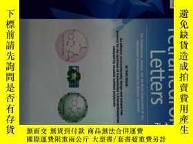 二手書博民逛書店Tetrahedron罕見Letters 29 11 2017 四面体字母物理化学学术论文Y14610