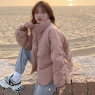 冬季棉服 棉襖女潮ins冬季棉服新款面包服學生韓版寬松小個子棉衣外套