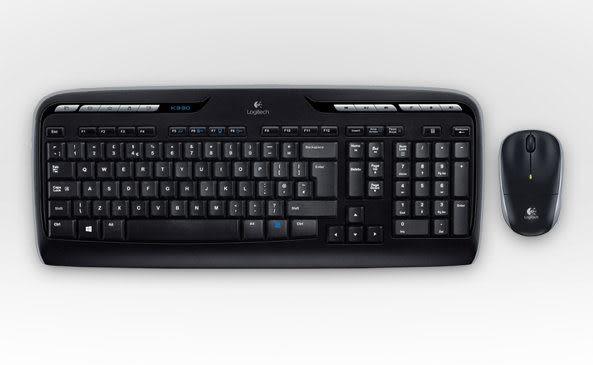 羅技 MK330 無線鍵盤滑鼠組 讓娛樂與便攜盡在彈指之間的滑鼠鍵盤組