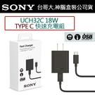 免運-SONY UCH32C PD原廠快充組【旅充頭+Type-C to Type-C連接線】Xperia 10 Xperia 5 Xperia1 L3【神腦公司貨】