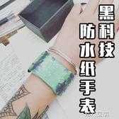 紙手錶 紙手錶男德國paprwatch新型智慧女黑科技paper電子表紙質手環 第六空間