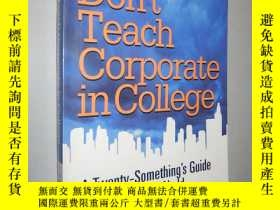 二手書博民逛書店They罕見Don t Teach Corporate in C